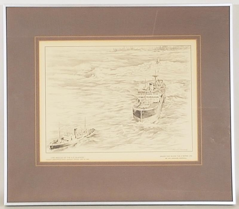 Rescue of the SS Glafkos - Vicinity Amphitrite Point, Barkley Sound - Edward Goodall.1.jpg