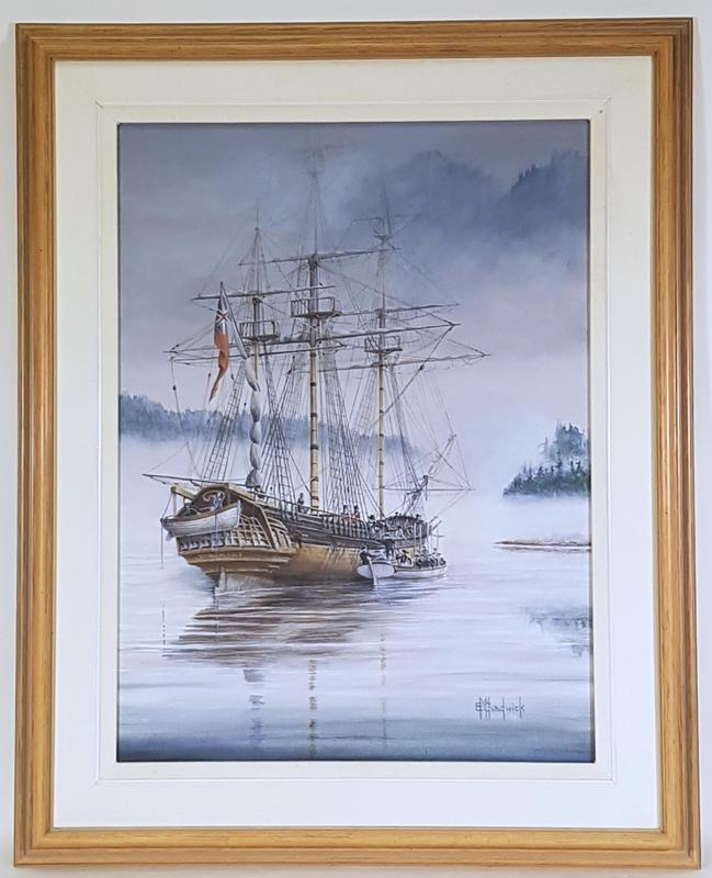 HMS Discovery on the Pacific Coast 1792 - EM Chadwick.1.jpg