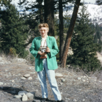 1956 Betty Kovalcik (Brown) with her camera in Princeton BC SMALL.jpeg